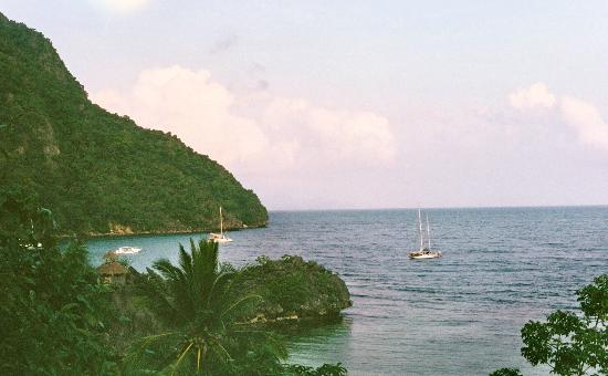 Sangat Island Dive Resort: View from a hill
