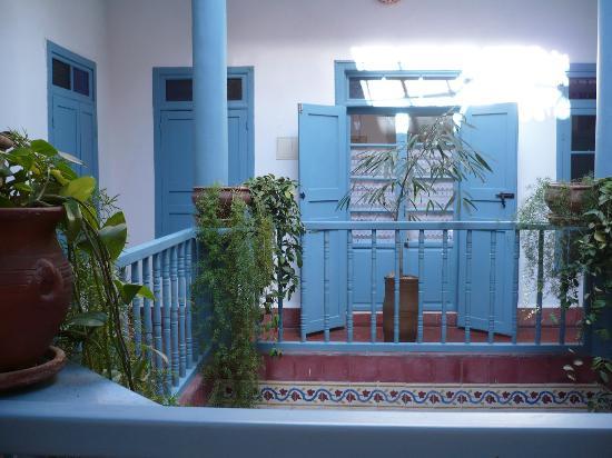 Hotel Les Matins Bleus: Innenraum