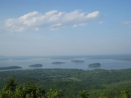 Blackwoods Campground : View from top of Cadilllac Mt