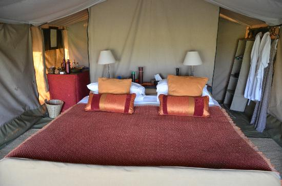 Ubuntu Camp, Asilia Africa: Peaceful sleep in the bush