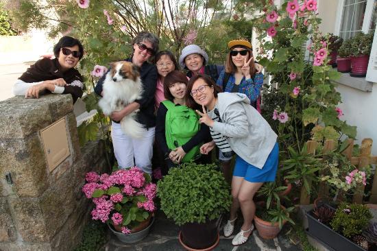 Villa Albizia : 和女主人合照