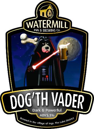 Watermill Brewing Co: One of our beers - come over to the dark side