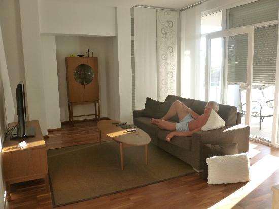 Villa Diana Zadar: Lounge Area