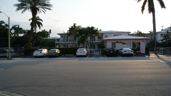 Birch Patio Motel: Erster Eindruck