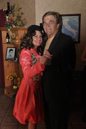 Bistro Mezzaluna: Our Owners Mark & Valerie