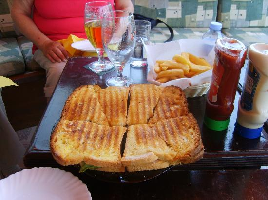 Chill Out Bar: The chill out toastie