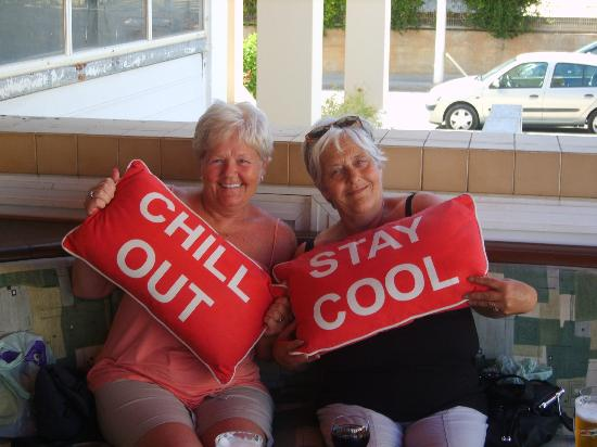 Chill Out Bar: it is what it says on the cusions