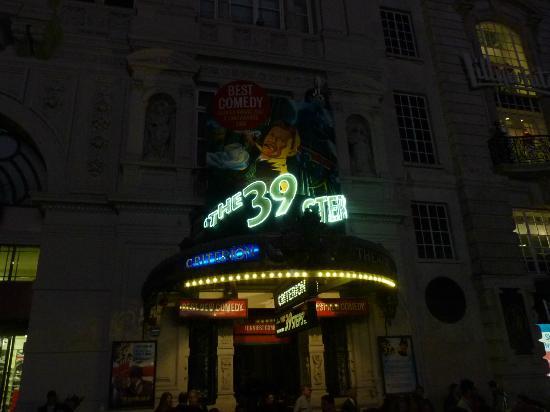 The 39 Steps: Marquesina de noche