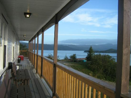 Woody Island, Canada: View from the lodge