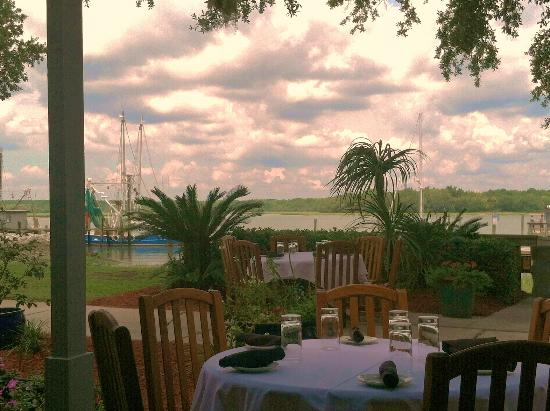 Outdoor seating picture of chart house hilton head tripadvisor