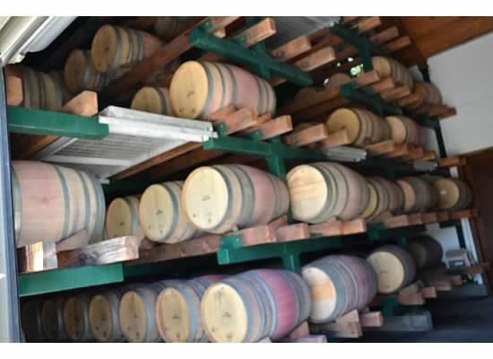 Paradigm Winery: Paradigm French oak barrels