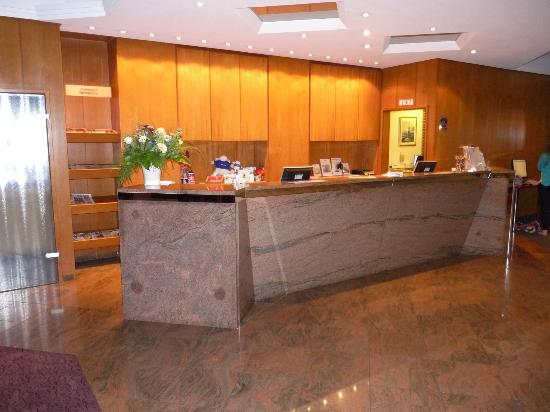 Best Western Hotel Hamburg International: Rezeption