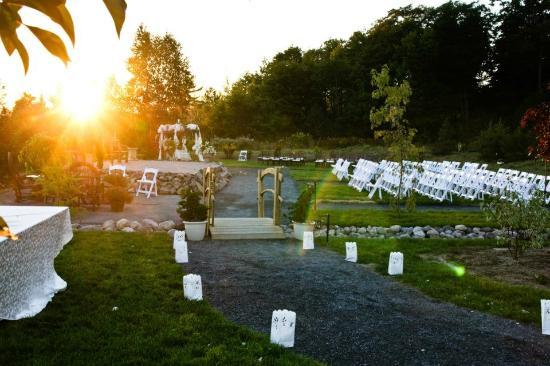 Wedding at Dunlop Lake Lodge