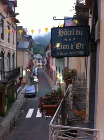 Hotel du Lion d'Or : Vistas a la calle Richelieu