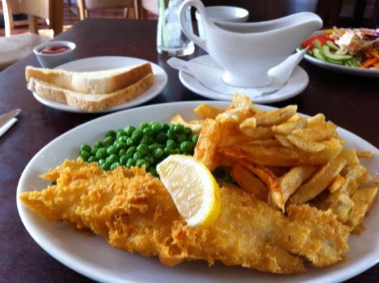 The Hook and Line: great fish and chips indeed!