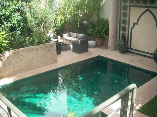 La Maison de Tanger: la piscine !!