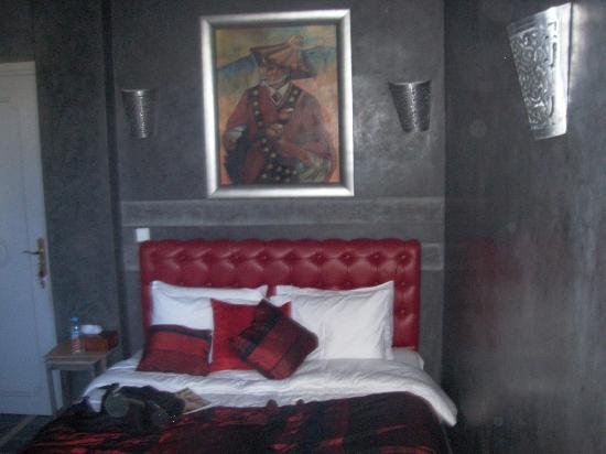La Maison de Tanger: Notre chambre (n°2)