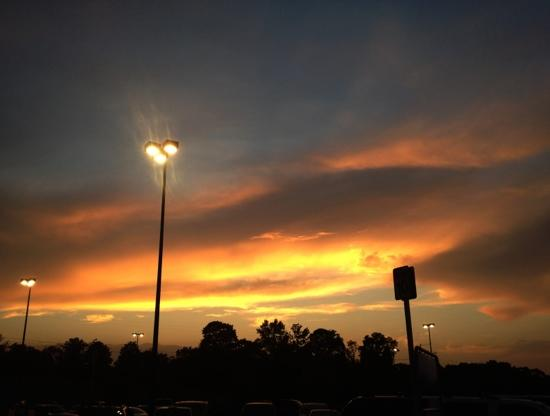 Super 8 Tyler TX : nothing beats the Texan sunset