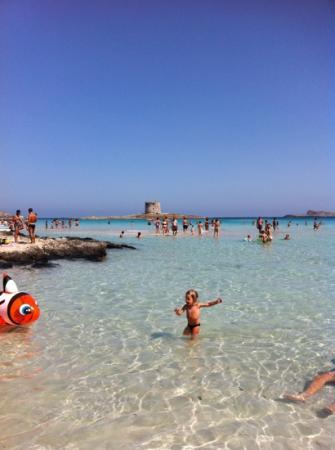 """La Pelosa Beach: spiaggia de """"la pelosa"""""""