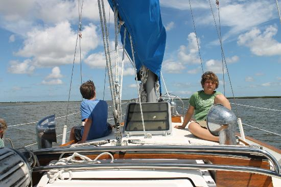 Compass Sailing, LLC: Sailing with Steve