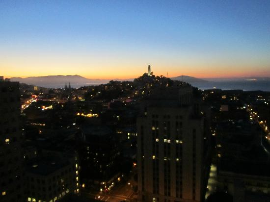 Le Meridien San Francisco: Panoramic views from our room