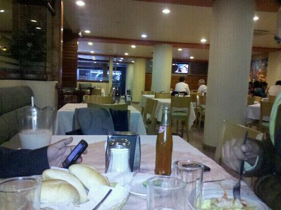 Hotel Manalba: La comida en el restaurante Mayaland es muy rica