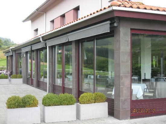Hotel Olazal: Restaurante