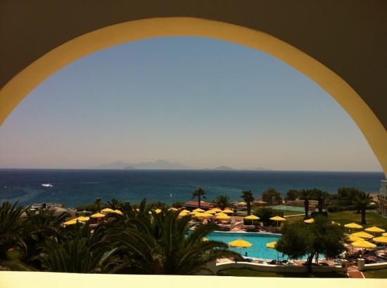 Mitsis Norida Beach Hotel: view from 106 and 206