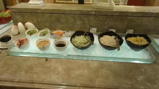 Chateau de Chine Hotel Hualien: 朝のビュッフェ①
