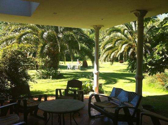 Hotel El Habana: porche