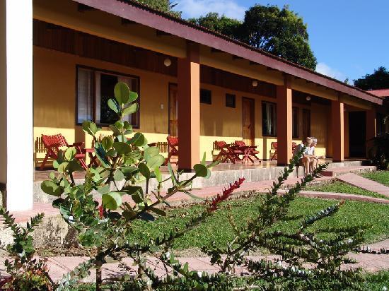 Sunset Hotel Monteverde : Porch