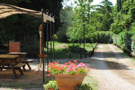 Villa i Tigli: area barbecue