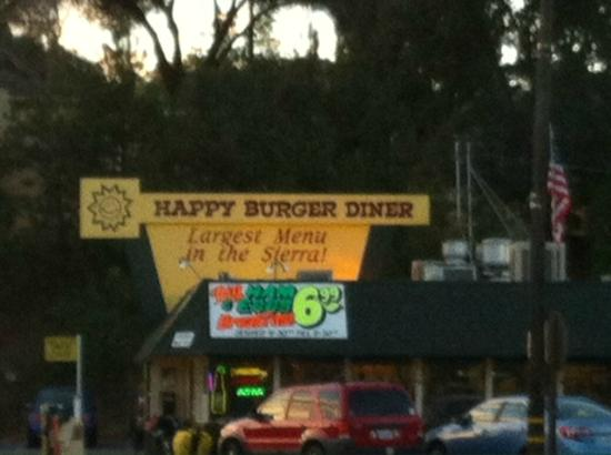 Happy Burger: Happy outside