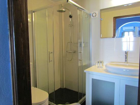 Cosmopolitan Suites Hotel : The bathroom