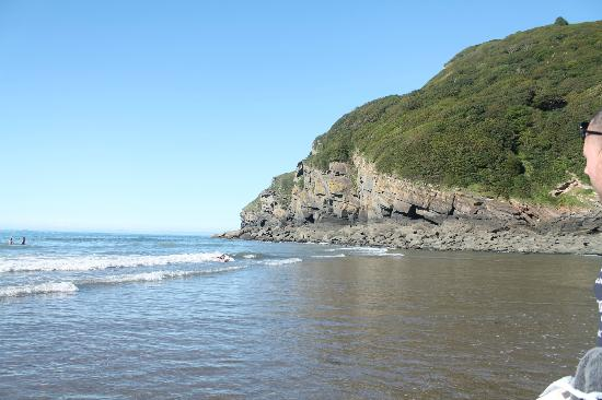 Castle Hill Guest House: Beautiful beach recommendation from Alistair and Emma!