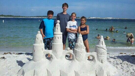 Sandcastle lessons on the emerald coast with www for Sweet jody fishing