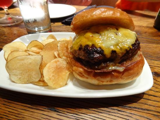 Distil's version of burger