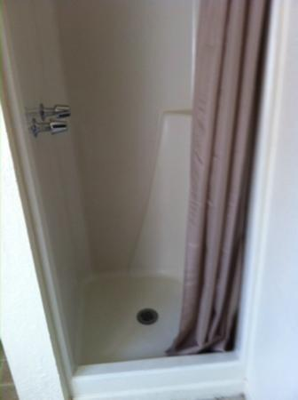 "Green Gables Motel: I'm 6'2"", and the showerhead was fine - for my bellybutton"