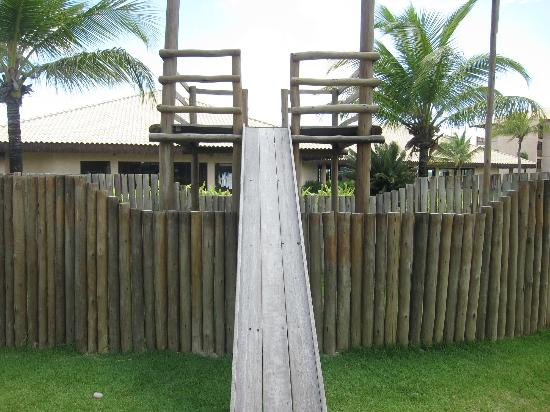 Vila Gale Cumbuco: Slide at kids' area
