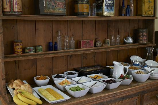 The Dairy Private Hotel: Buffet Breakfast
