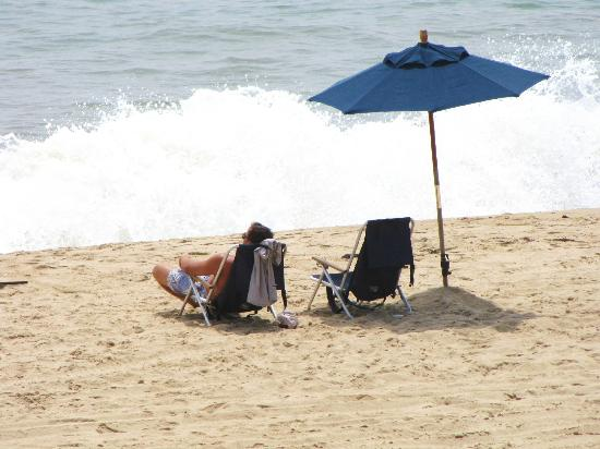 "Burcliffe ""By The Sea"": Incredible private beach - busy time of year in Montauk, only saw about 20 people tops on the be"