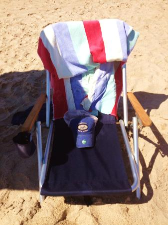 "Burcliffe ""By The Sea"": The weather was perfect - we found a little beach time every day."