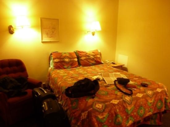 Highlander Motel: cama bastante comoda