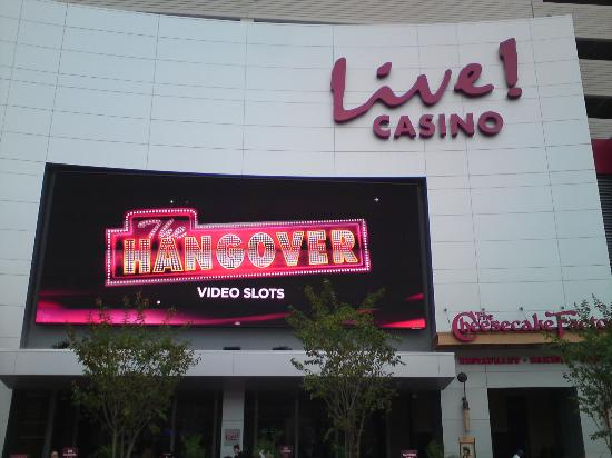 Maryland Live Casino: Front Entrance Across from the Mall's Food Court
