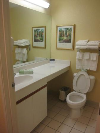 Extended Stay America - Orlando - Southpark - Equity Row: Bathroom