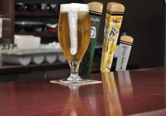 The Turning Point Restaurant: Mt. Begbie beer on tap