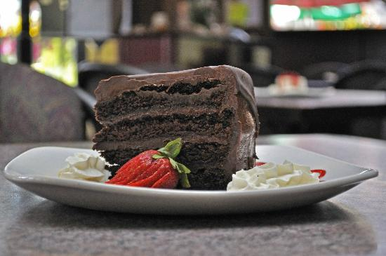 The Turning Point Restaurant: Chocolate Sensation Cake