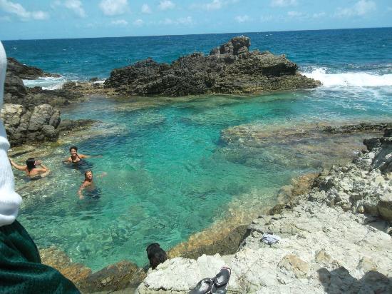 جيتاوايز آت جوانا باي بيتش فيلاز: beautiful nature pool 