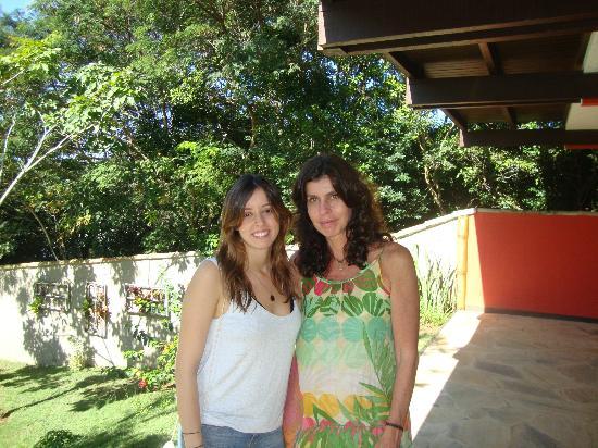Pousada Vila Pitanga: Eu e minha filha