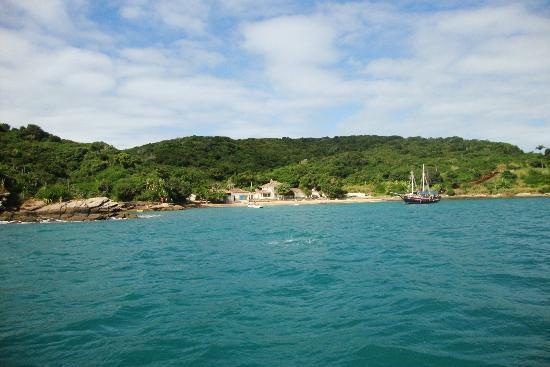 Pousada Vila Pitanga: praia da ferradura, bem proxima da pousada!